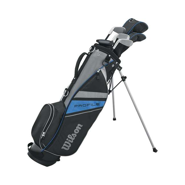 WGGC61000 Wilson 2017 Profile Complete Junior Right Hand Golf Set, Blue 1