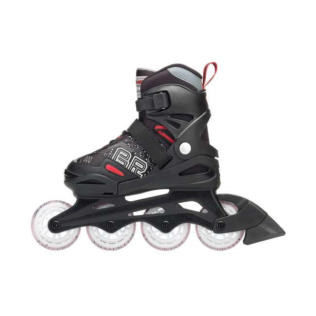 0T817100741-M Rollerblade Bladerunner Phoenix Boys Adjustable Skate, Size 1-4 1