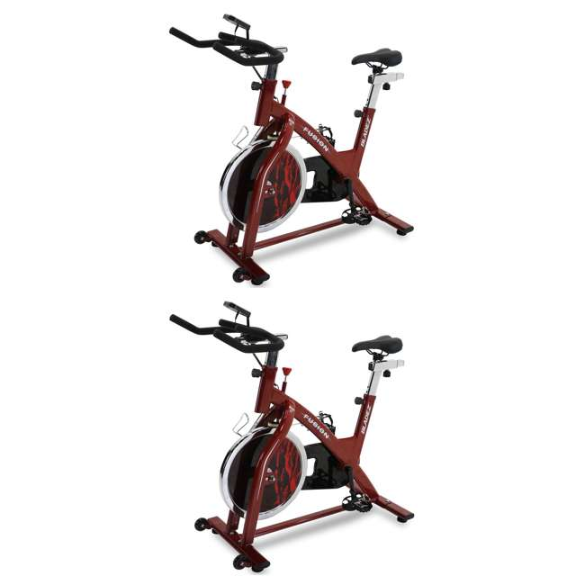 FUSION-BH Fusion GS Bladez Fitness Stationary Indoor Exercise Fitness Bike (2 Pack)
