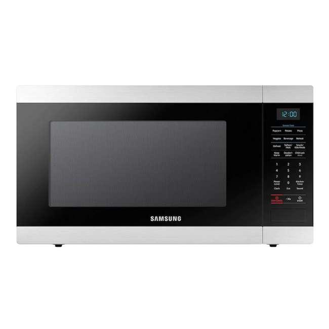 MS19N7000AS-RB Samsung Stainless Steel 1.9 Cu. Ft. Countertop Microwave (Certified Refurbished)