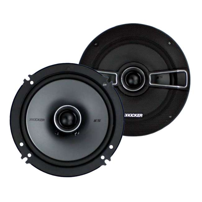 41KSC654 Kicker 6.5-Inch 200W 2-Way Speakers (Pair) | 41KSC654