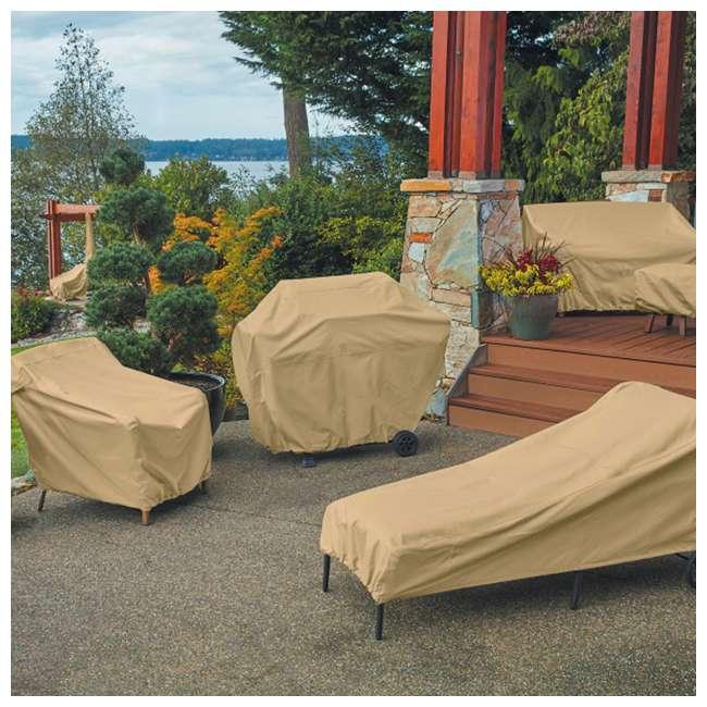 Classic Accessories Terrazzo Patio Chaise Lounge Cover