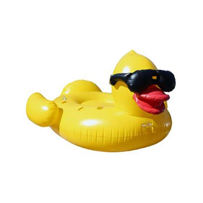 5000 GAME Giant Inflatable Riding Derby Duck(Open Box)