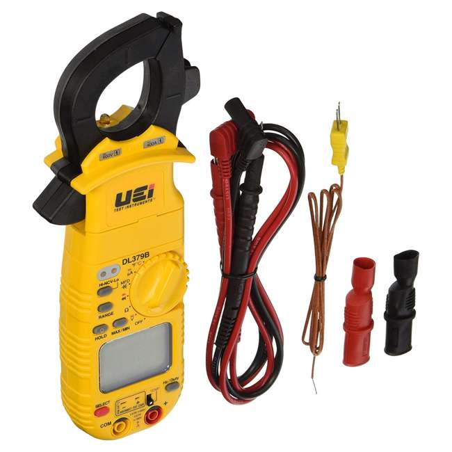 DL379B UEI Test Instruments DL379B Digital Magnetic Mount Jack Lock HVAC Clamp Meter