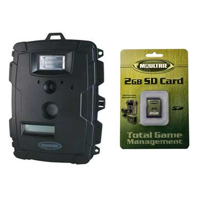 D60-CAMERA + SD2GB Moultrie Game Spy D-60 6MP White Flash Digital Trail Game Camera + 2GB SD Card