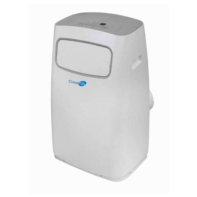 CEP-081A Coast Air CEP-081A 8000 BTUs Portable Wheeled Air Conditioner Floor Unit, White 2