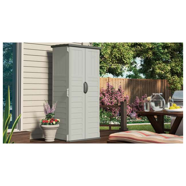 BMS1250 22 cu. ft. Vertical Shed (2 Pack) 2