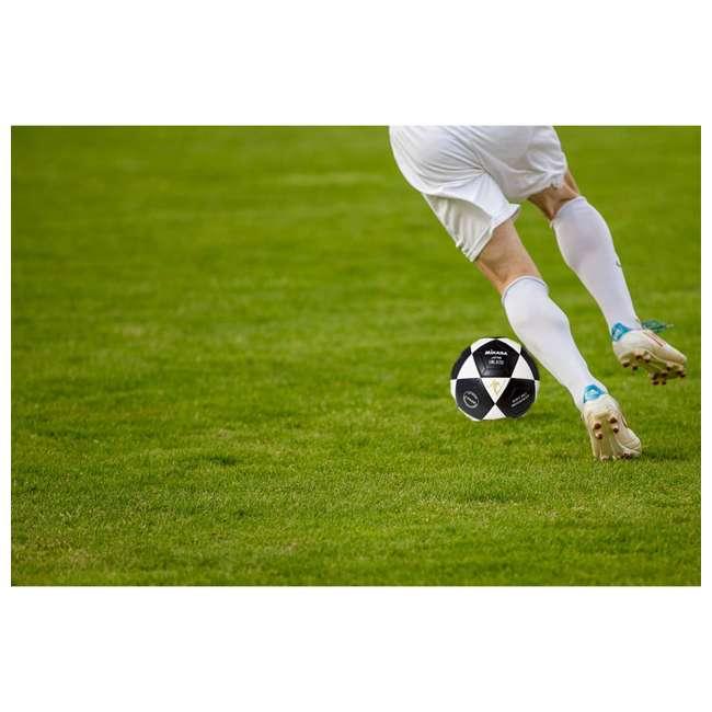SWL62-BY + SWL62-YBK + SWL62-WBK Mikasa Leather Futsal Indoor Soccer Ball with 2 Mini Balls 6