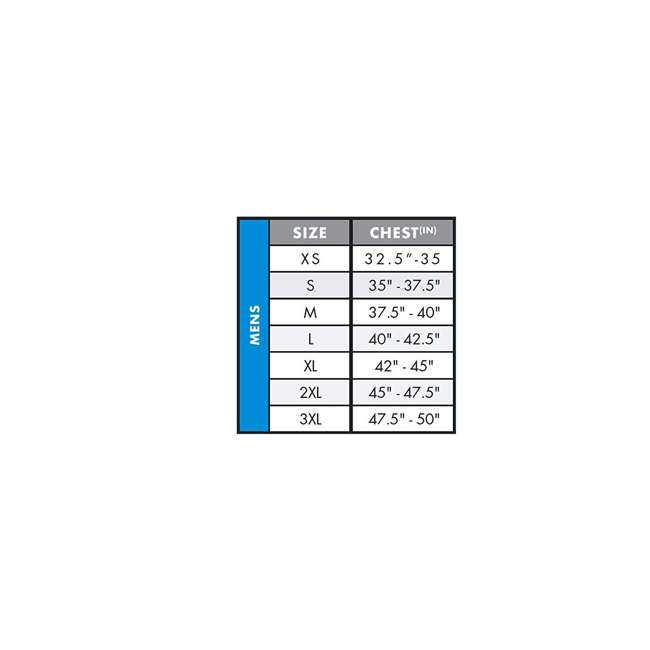 4720-N32-XL Reactor USCG Wakeboarding/Waterskiing Life Vest, XL 2