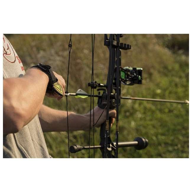 EGBBLKF Tru-Fire Edge Foldback Adjustable Wrist Strap Archery Compound Bow Release 1