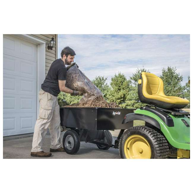 45-0101 Agri-fab Tow Style Steel Dump Cart with 750 Pound Capacity 8