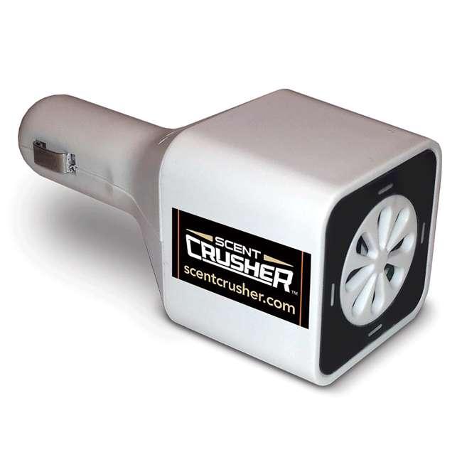 4 x SC59902-CP Scent Crusher Ozone Go Vehicle Odor Eliminator  (4 Pack) 1