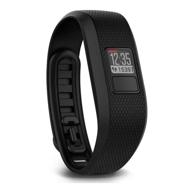 VF33R-REGB Garmin Vivofit 3 Fitness Activity Tracker, Regular Black 2
