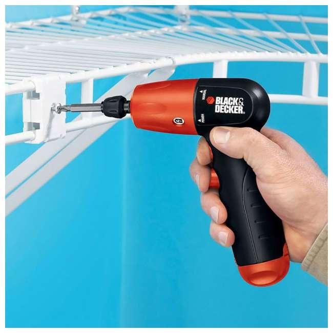 AD600 + 71-912 + BDMKIT101C Black & Decker 2 Hex Drill Driver & Bit Set & Picture Hanging Kit 2