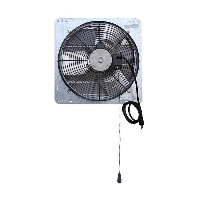 ILG8SF16V-T iLiving ILG8SF16V-T 3 Speed 16 Inch Exhaust Attic Garage Grow Fan w/ Thermostat 2