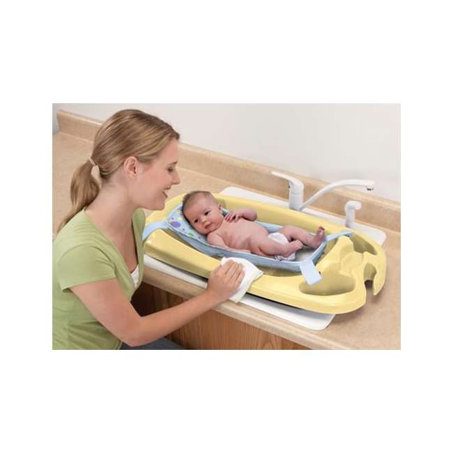 440300034 Safety 1st Deluxe Infant to Toddler Baby Bath Tub 1
