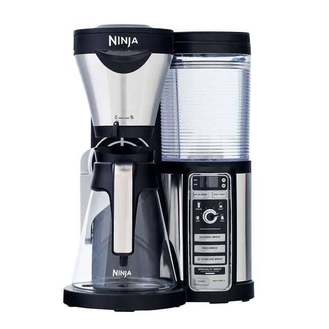 CF080QREF_EGB-RB + CBCF090 Ninja CF080 Coffee Brewer & Coffee Bar Recipe Guide (Certified Refurbished) 2