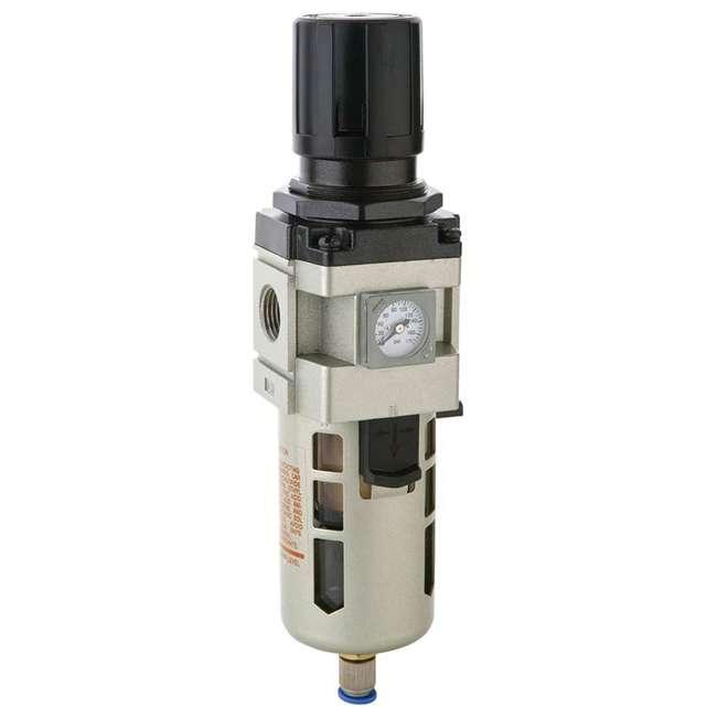 K93217 RapidAir MaxLine K93216 1/2 Inch 175 Max PSI NPT Filter Regulator with Gauge