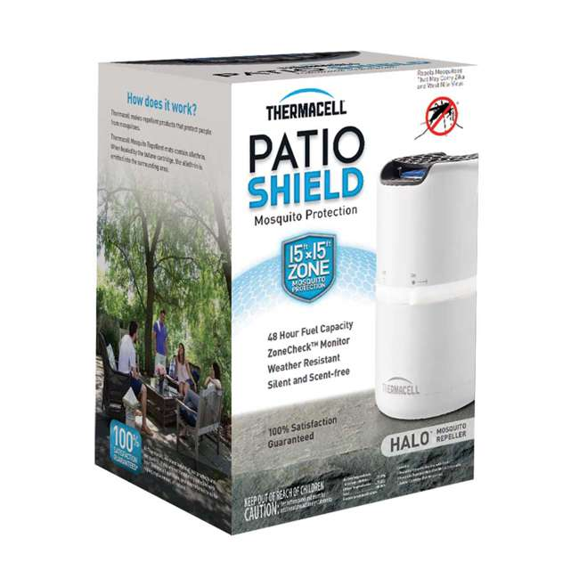 3 x MRD202 Thermacell Halo Outdoor Patio Shield Mosquito Repeller (3 Pack) 2