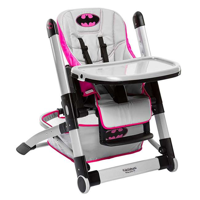 KE-6601BTG Kids Embrace DC Comics Batgirl Deluxe High Chair 5