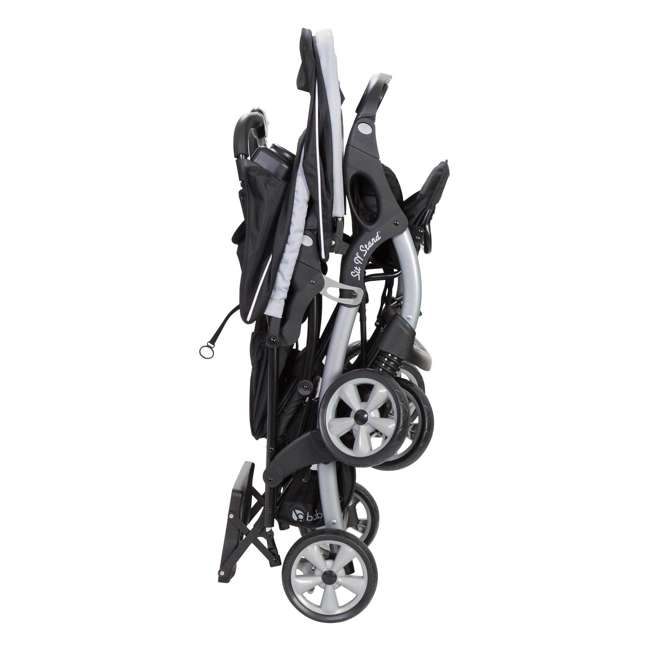 SS76B51A Baby Trend Sit N Stand Infant and Toddler Double Stroller 4