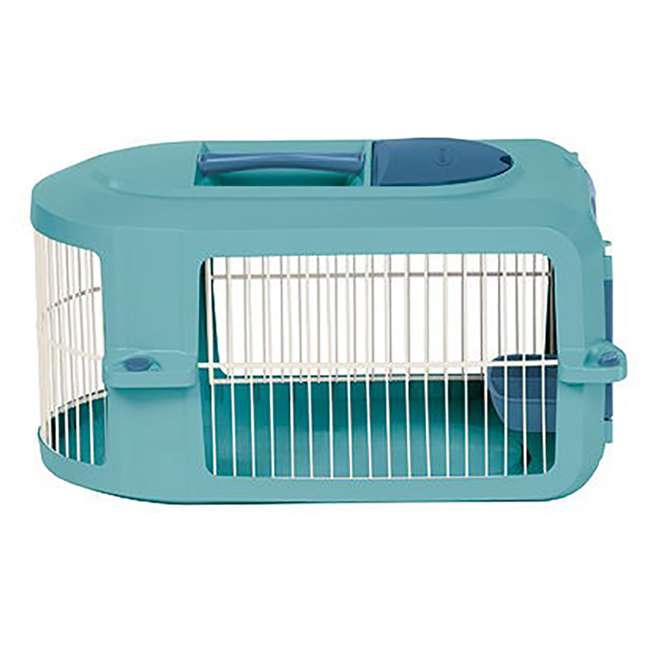 PCR1913A-U-A Suncast Personalizable Pet Carrier with Food and Water Tray (Open Box) (2 Pack) 2