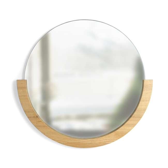 358778-390 Umbra Mira Mirror, Natural