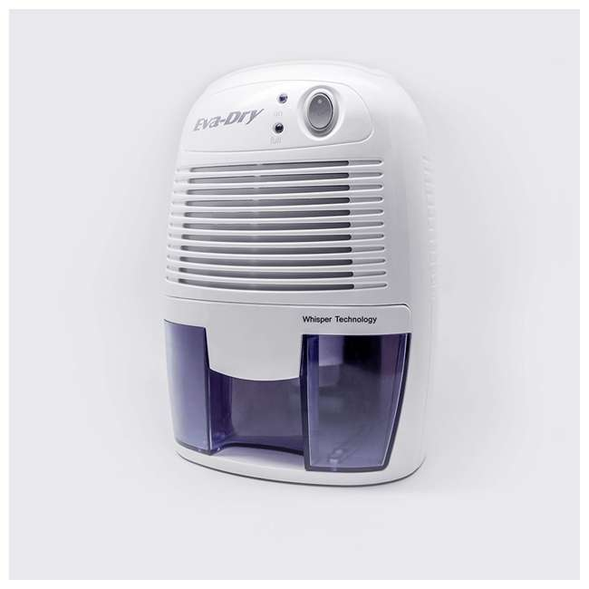 EDV-1100 Eva Dry EDV-1100 Petite 8 Ounce 1,100 Cubic Feet Home Electric Mini Dehumidifier 2