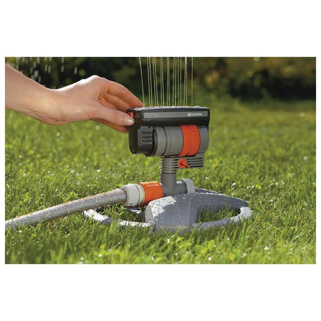 GARD-84-BZMX Gardena ZoomMaxx Oscillating Sprinkler and Base 3
