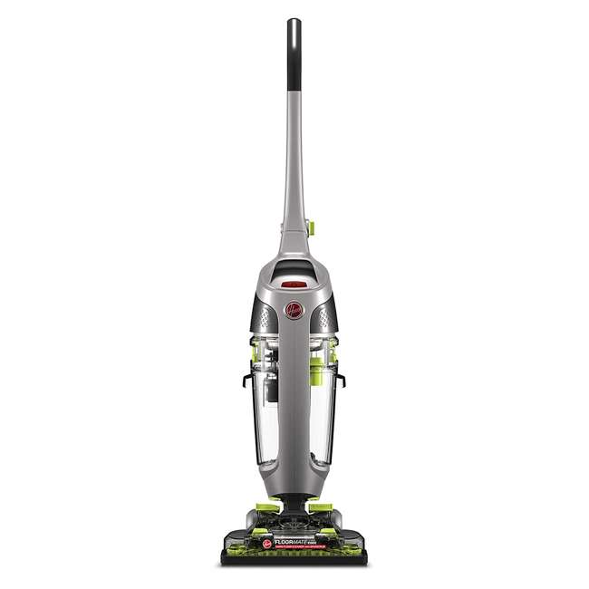 FH40190-U-D Hoover FH40190 Dual Water Tank Edge Hard Floor Surface Cleaner Machine (Damaged) 1