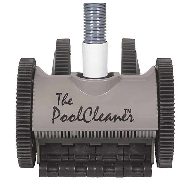 POOLV-0525 Hayward Poolvergnuegen Automatic 4-Wheel Suction Pool Cleaner, Gray (2 Pack) 2