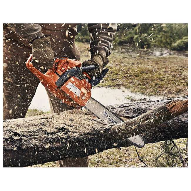 "967166003-BRC-RB-U-C Husqvarna 440 18"" 40.9cc 2.4HP 2 Cycle Gas Chainsaw (Refurb) (For Parts)(2 Pack) 3"