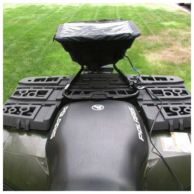 FIELD-AS-12V Field Tuff 12V ATV Broadcast Seed and Fertilizer Spreader 2