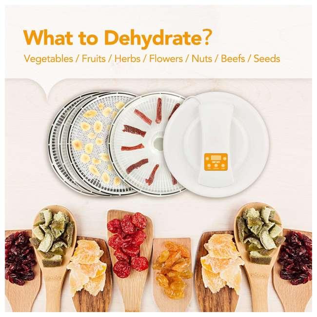 CHEF-SIFU-FD-01 Chef Sifu Digital Electric 5-Tray Food Dehydrator  1