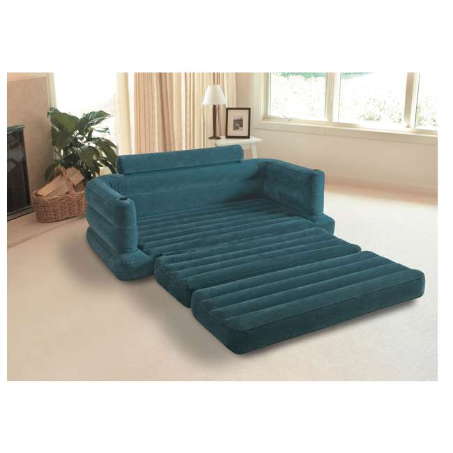68566EP-U-B INTEX Inflatable Pull-Out Sofa & Queen Bed Mattress Sleeper (Used) (2 Pack) 6
