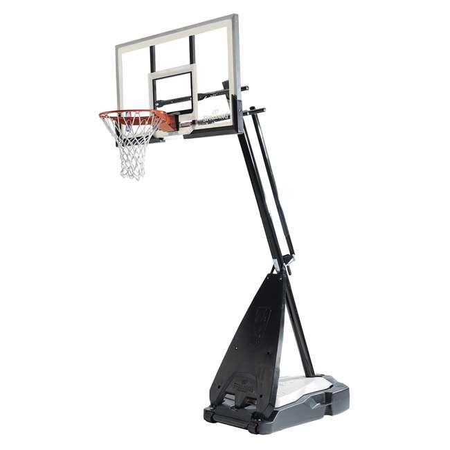 "71562 Spalding 60"" Acrylic Ultimate Hybrid Portable Basketball Hoop"