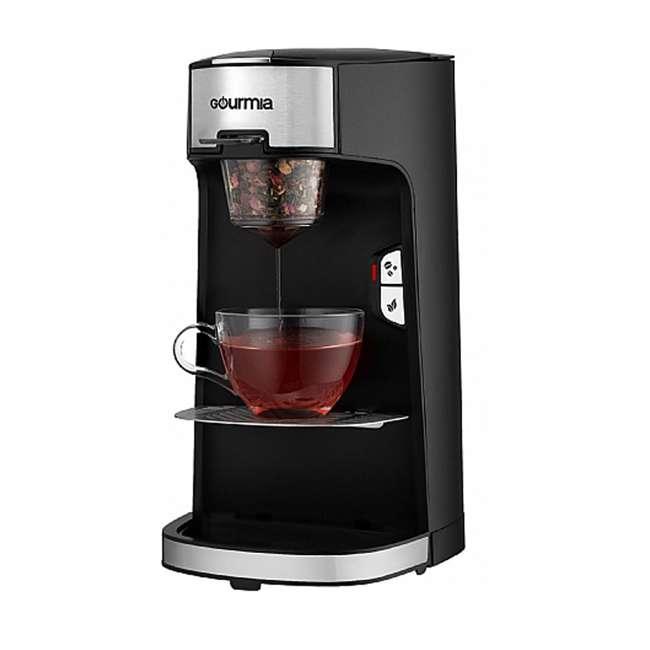 GCM3600 Gourmia Automated Single Serve Coffee and Tea Brewer and Capsule Machine, Black 1