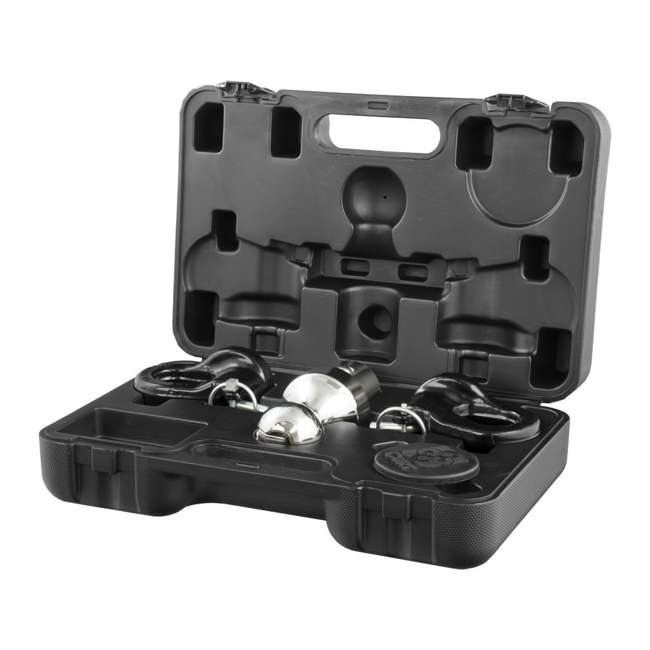 4 x CURT-60692 Curt 60692 Gooseneck Trailer Puck Ball & Chain Anchor Kit (4 Pack) 5