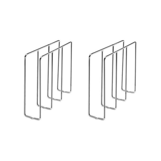 596-10CR-52 Rev-A-Shelf U-Shaped Tray Divider Organizer for Cabinets, Chrome (2 Pack)