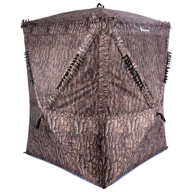 AMEBF3019 Ameristep 2 Person 5.5 Foot Big Country Hub Style Ground Hunting Blind 2