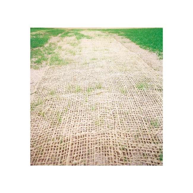 17685-1-48 Mutual Industries 17685 Jute Mesh Erosion Control Blanket 225 feet by 4 feet 1
