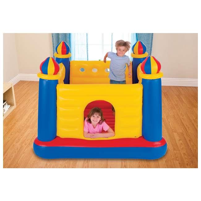 48259EP-U-A INTEX Inflatable Jump-O-Lene Ball Pit Castle Bouncer (Open Box) (2 Pack) 3