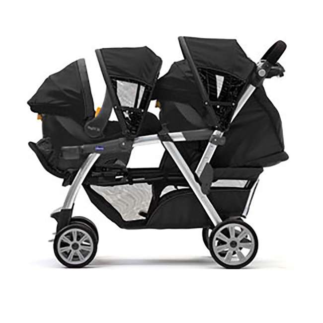CHI-0807904302 Chicco Cortina Together Double Stroller, Minerale 2
