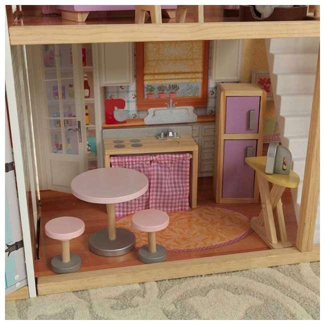 KDK-65954-U-A KidKraft Grand View Mansion Children's Dollhouse w/ EZ Kraft Assembly (Open Box) 3