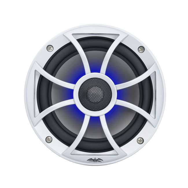 "RECON6SRGB Wet Sounds Recon 6.5"" 2-Way Marine Speakers w/ LED lights"