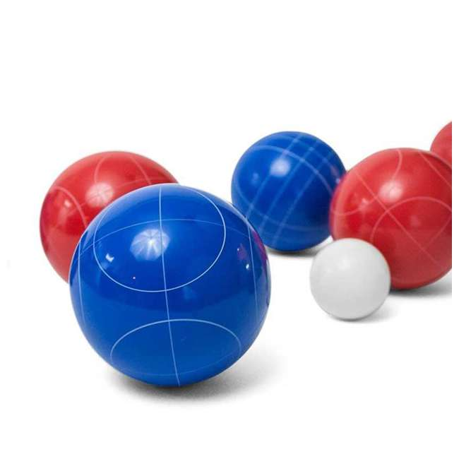 BOCCE-004 Classic 8-Ball 2-Color Backyard Bocce Ball Game Set 2