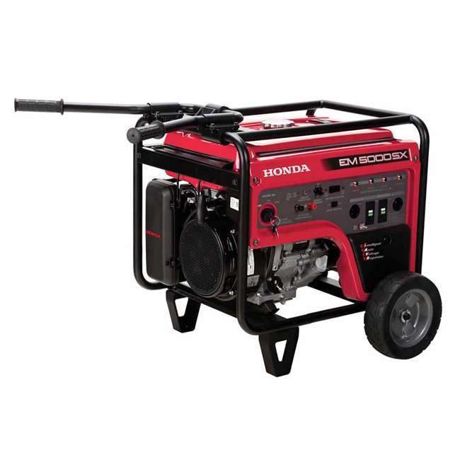 EM5000SXK3 Honda EM5000SXK3 5,000 Watt Portable Electric Commercial Engine Power Generator 2