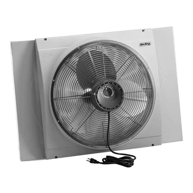 air king 20 inch whole house window fan ak 9166