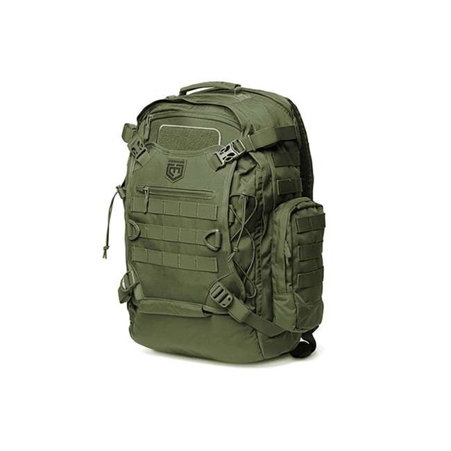 CPG-BP-PHAL-L-S Cannae Pro Gear Phalanx Full Size Duty Helmet Carry Military Backpack Pack, Sage