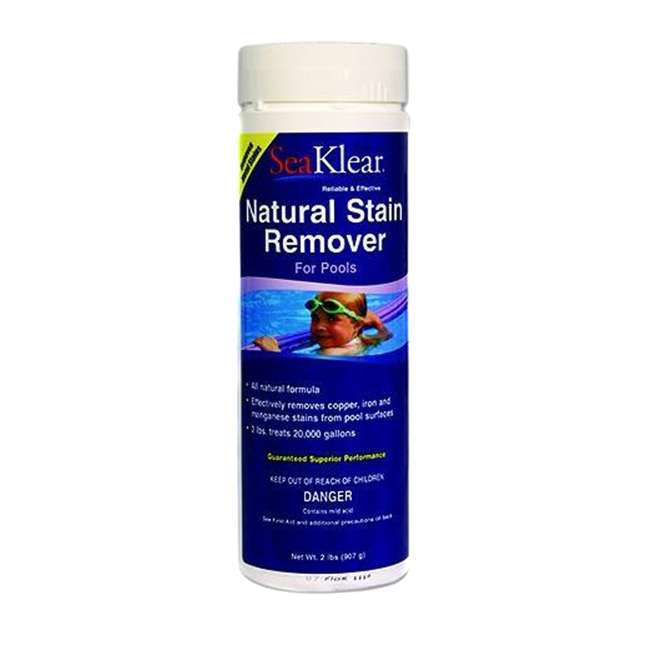 Seaklear All Natural Swimming Pool Metal Stain Remover